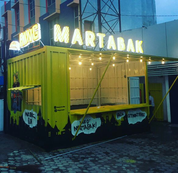 jual container booth cafe