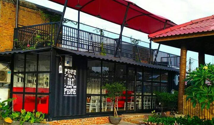 jual container cafe